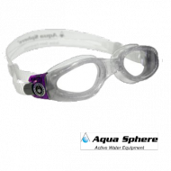 Aquasphere Kaiman bianco trasp