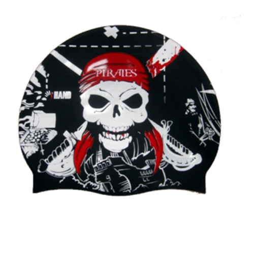 Hand cuffia pirata nero
