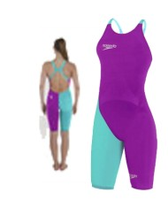 Speedo Costume donna 2016 ELITE 2 PURPLE BLU