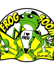 Hand cuffia Frog